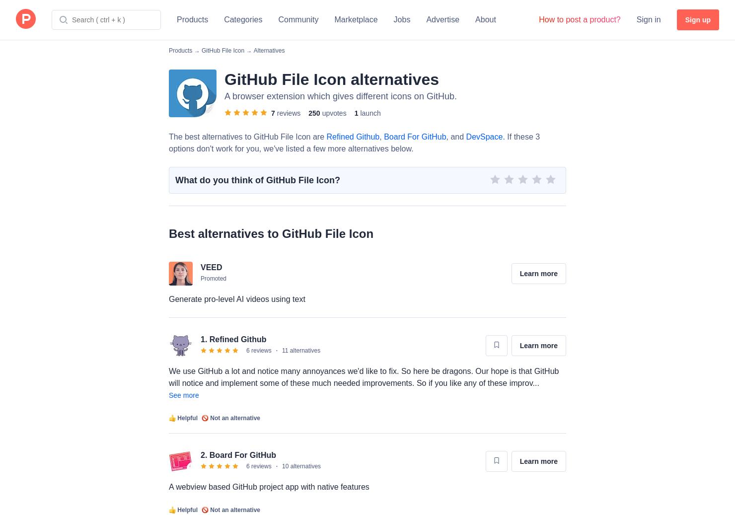 Webview Github