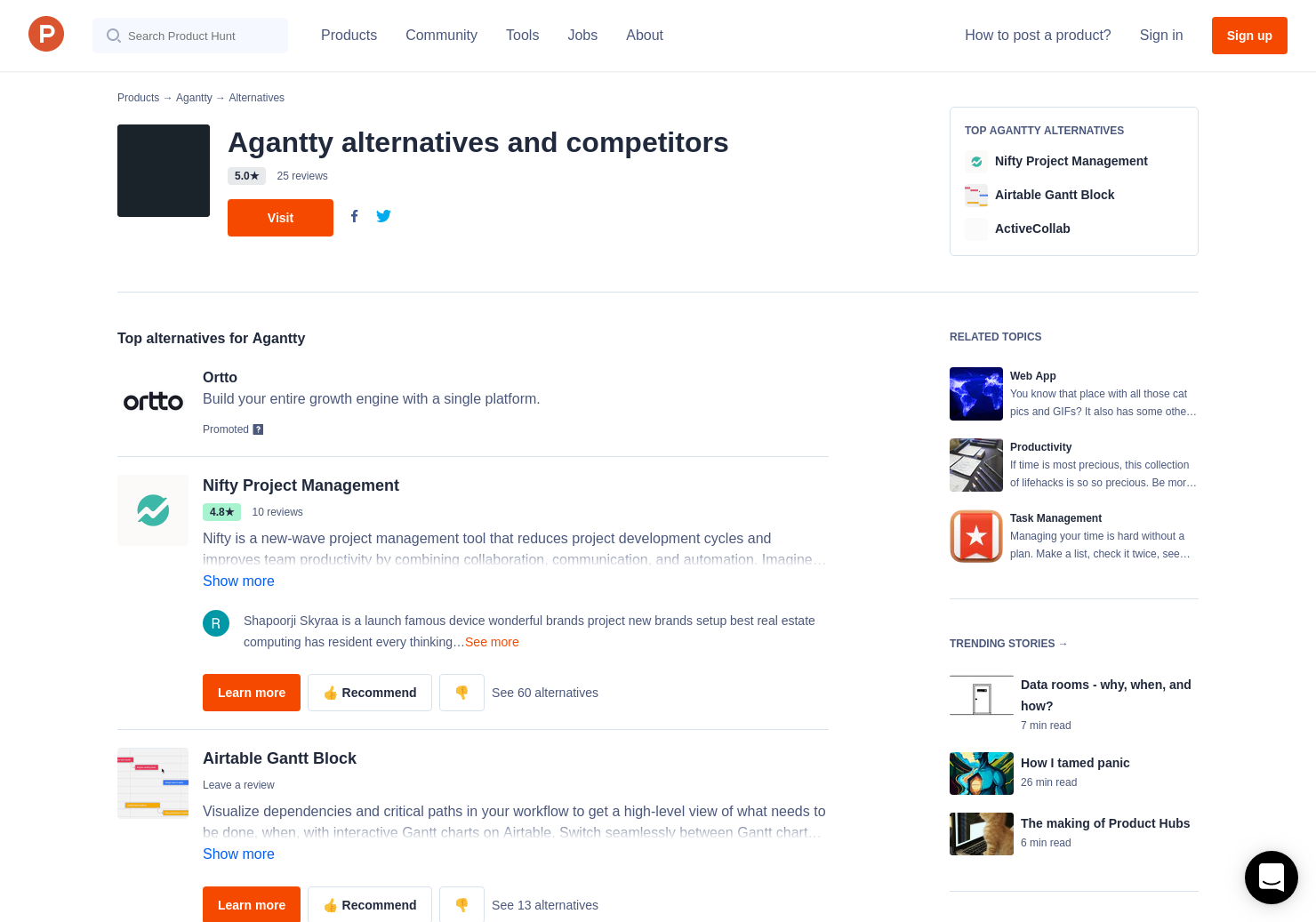 Agantty 16 alternatives to agantty   product hunt