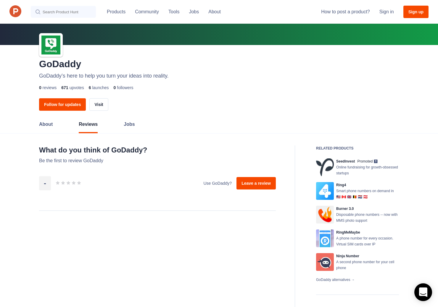 SmartLine from GoDaddy Reviews - Pros, Cons and Rating | Product Hunt