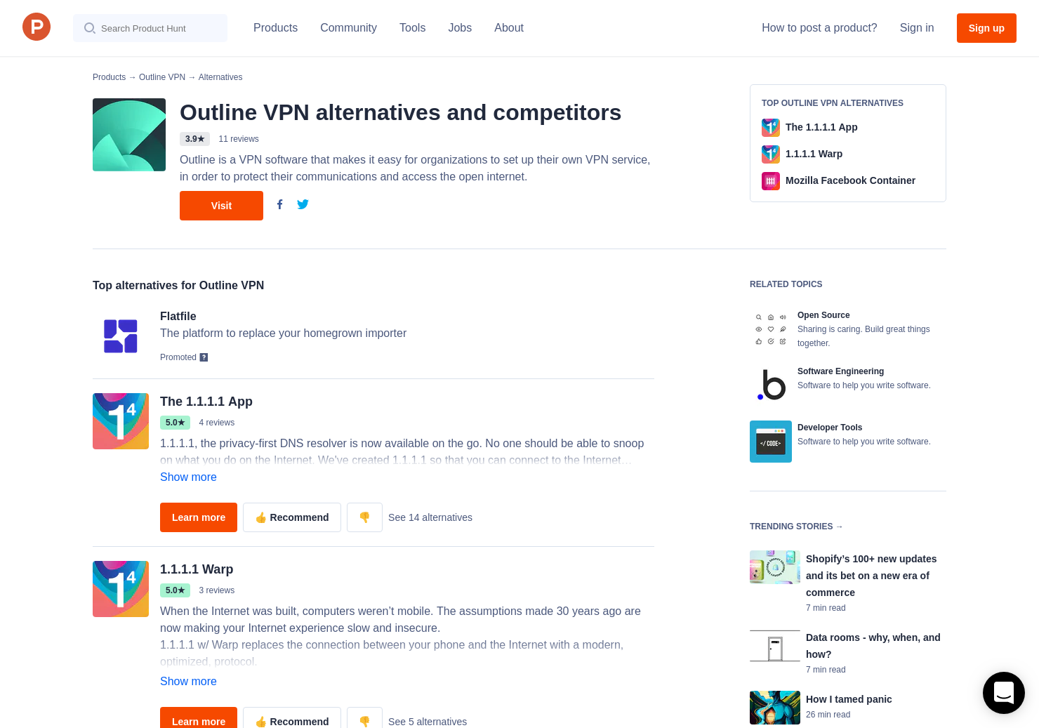 22 Alternatives to Outline by Alphabet | Product Hunt