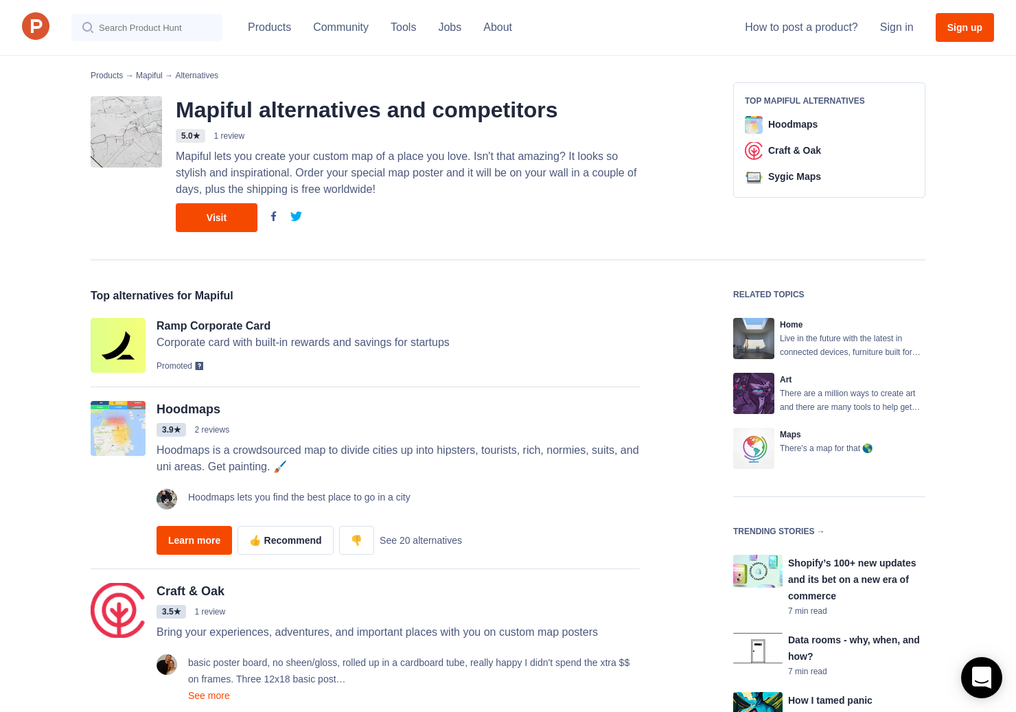 28 Alternatives to Mapiful | Product Hunt