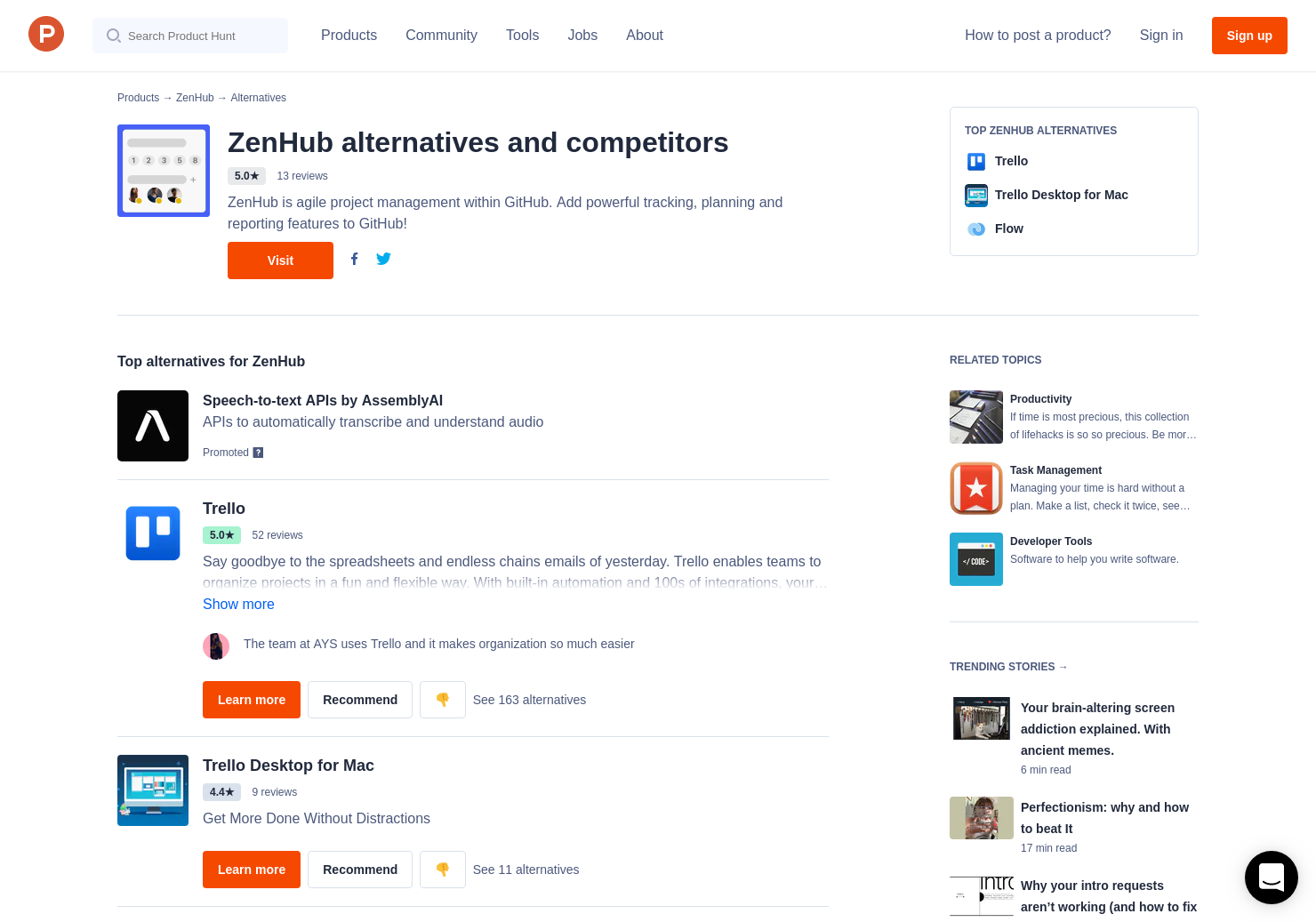 21 Alternatives to GitHub Project Management | Product Hunt