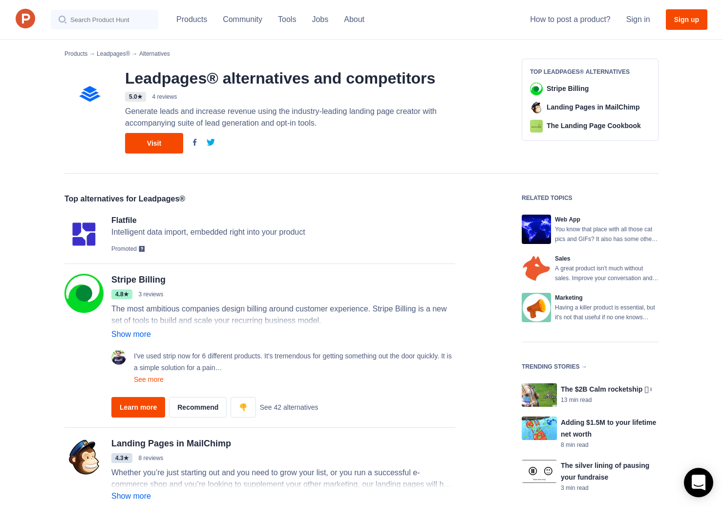 The Definitive Guide for Alternative To Leadpages