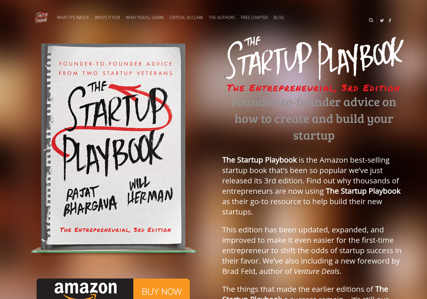 The Startup Playbook 2nd Edition