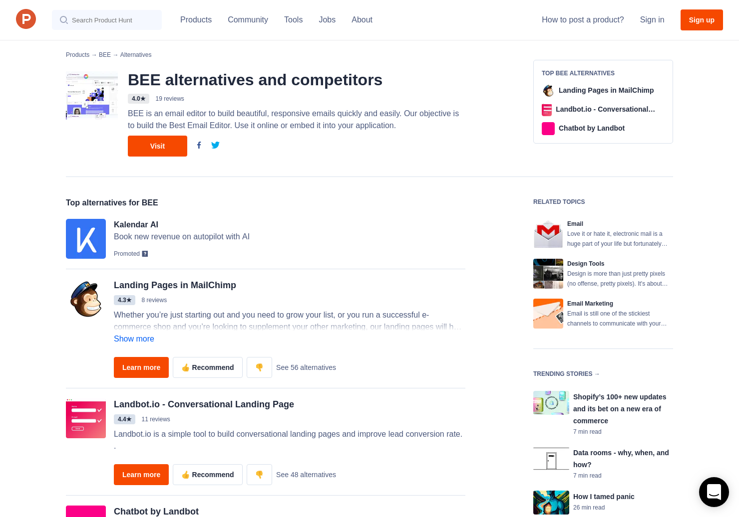 5 Alternatives To Bee Email Templates For Gmail Product Hunt