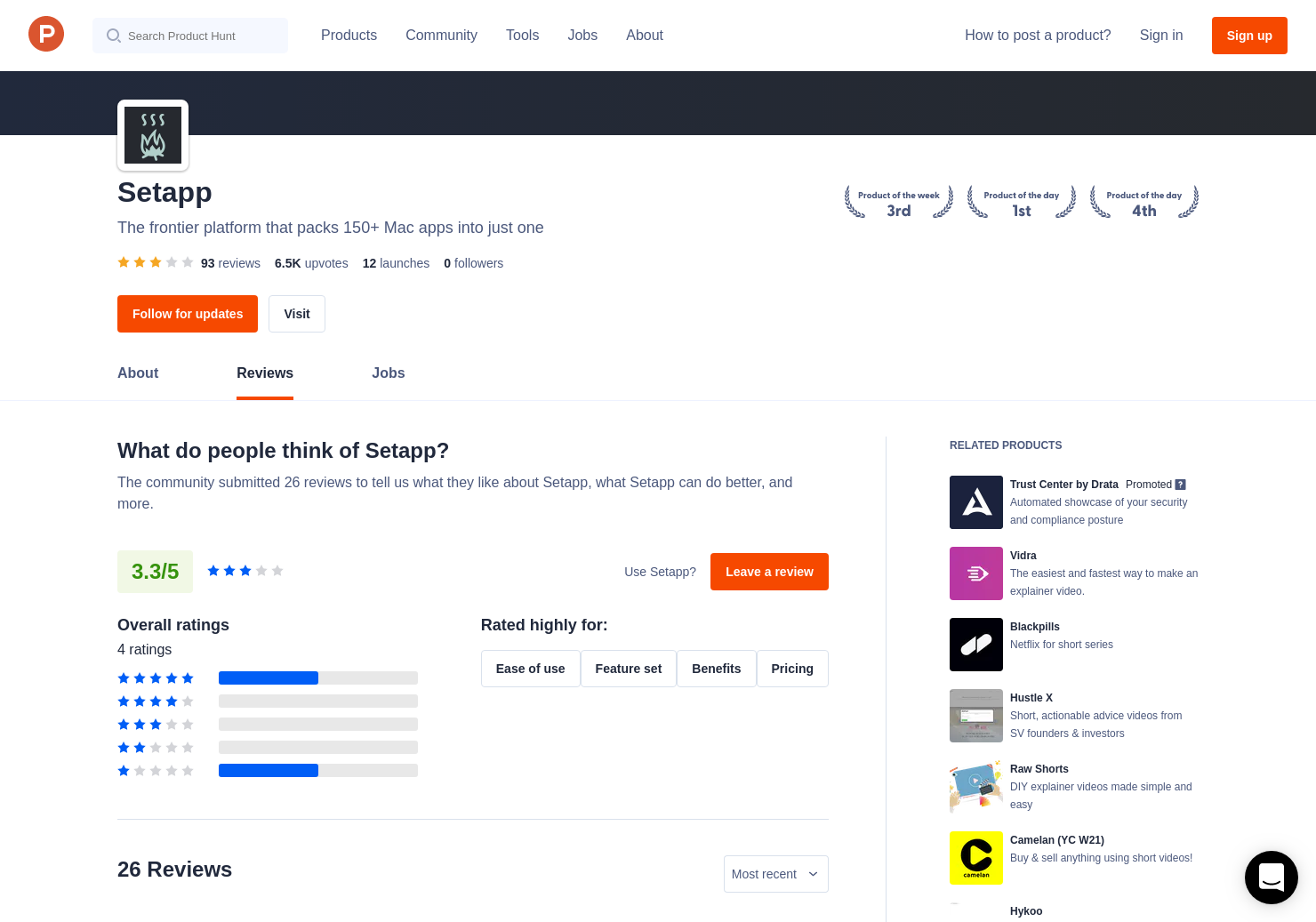 1 Setapp Beta Reviews Pros Cons And Rating Product Hunt Current