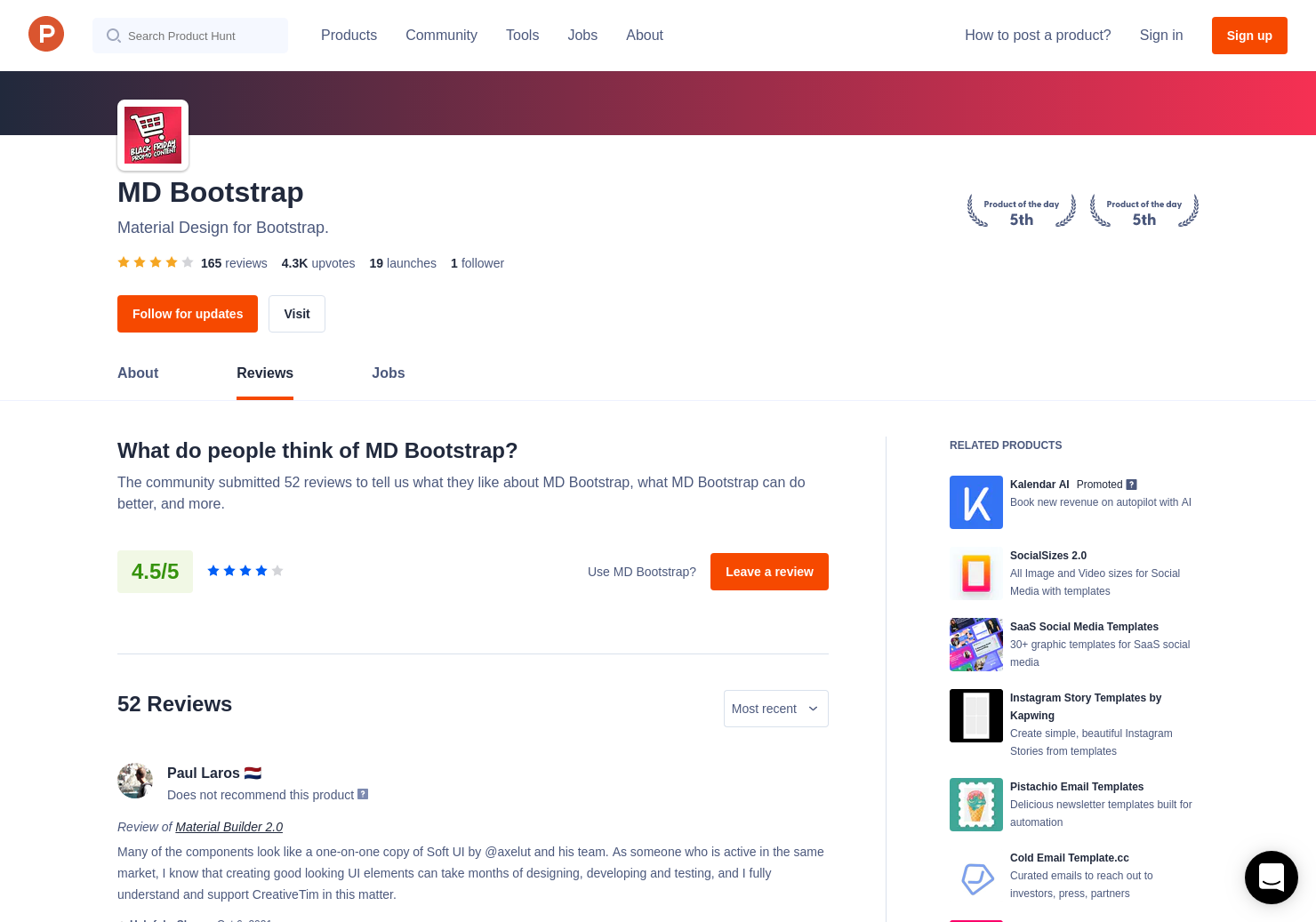 9 React Bootstrap Material UI Kit Reviews - Pros, Cons and