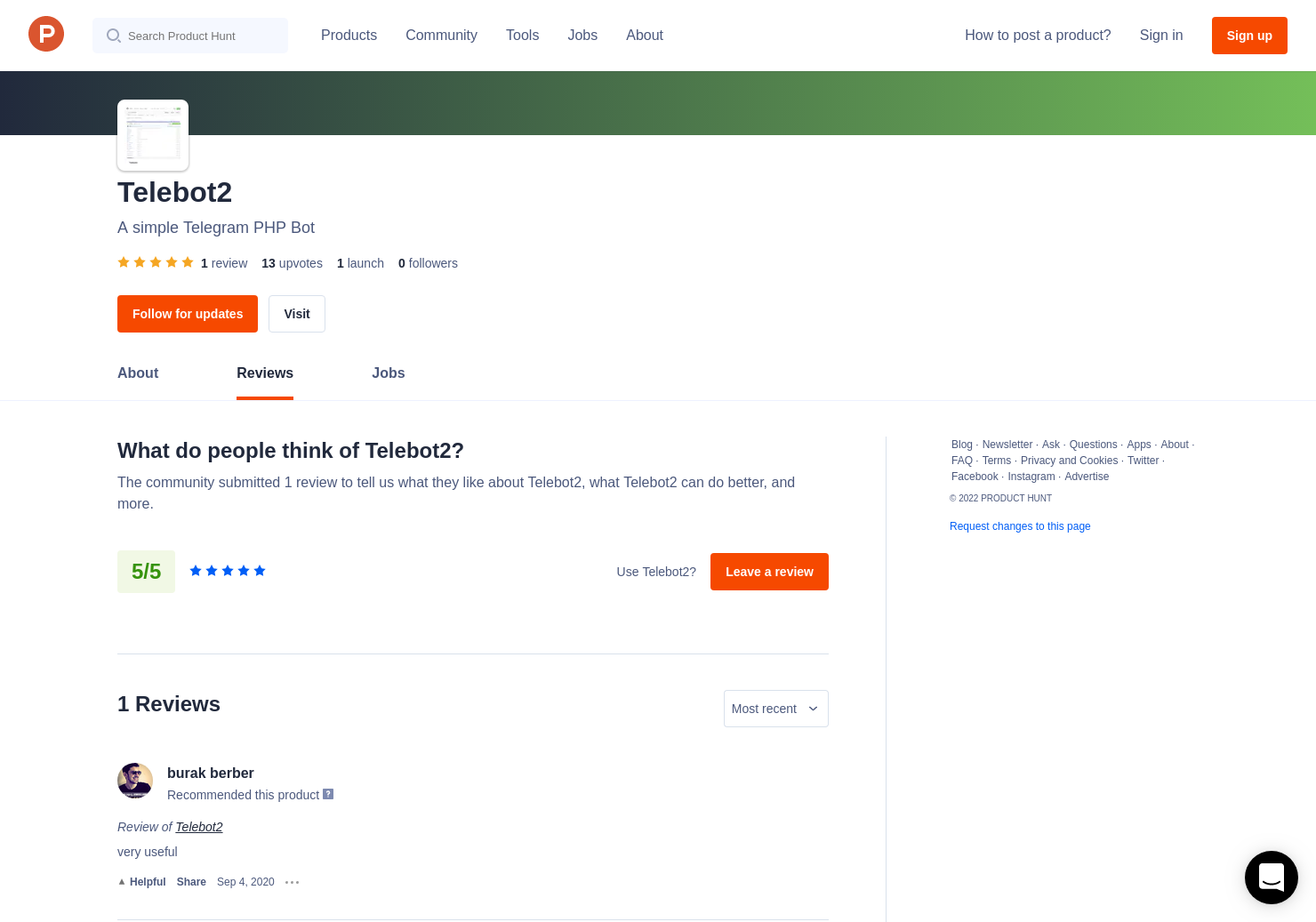 Telebot2 Reviews - Pros, Cons and Rating | Product Hunt