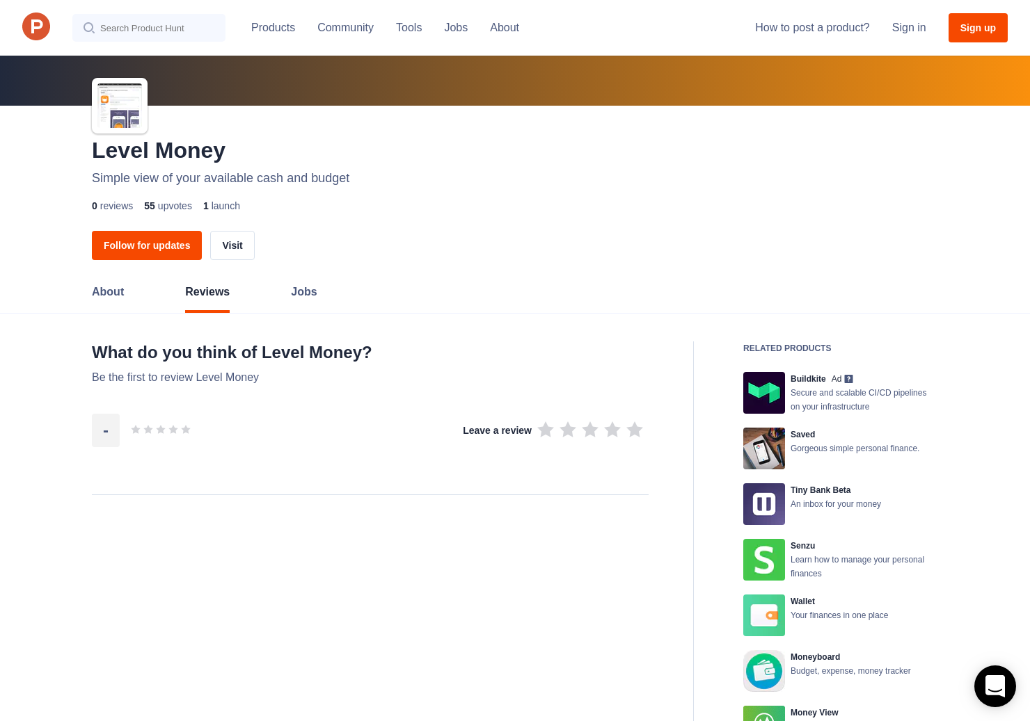 Level Money Reviews - Pros, Cons and Rating | Product Hunt