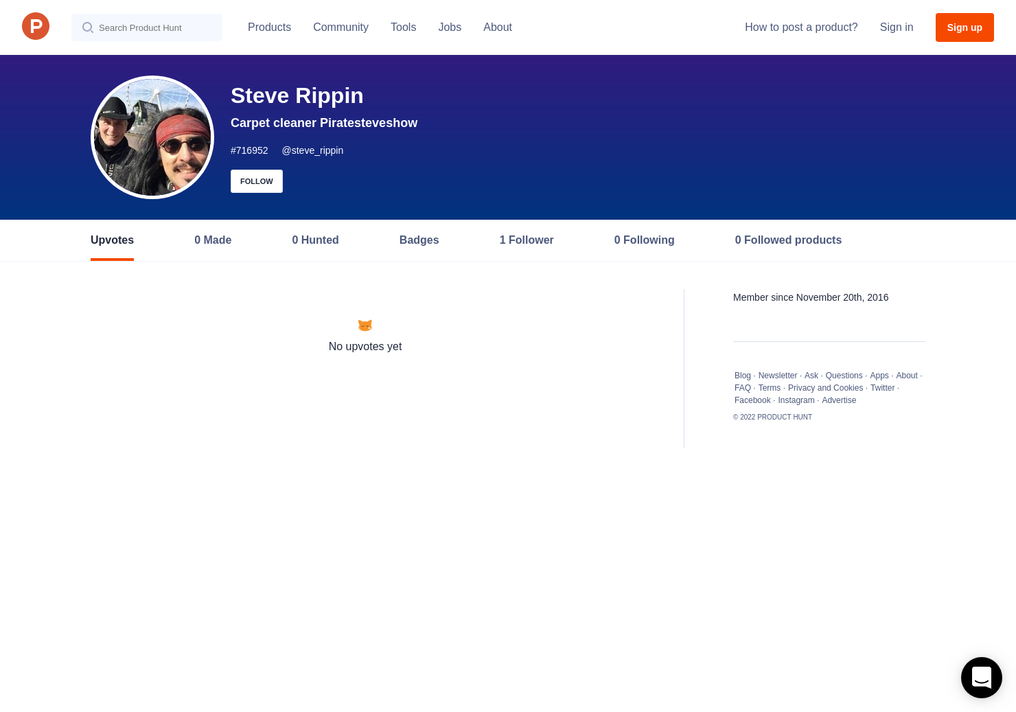 Steve Rippin S Profile On Product Hunt
