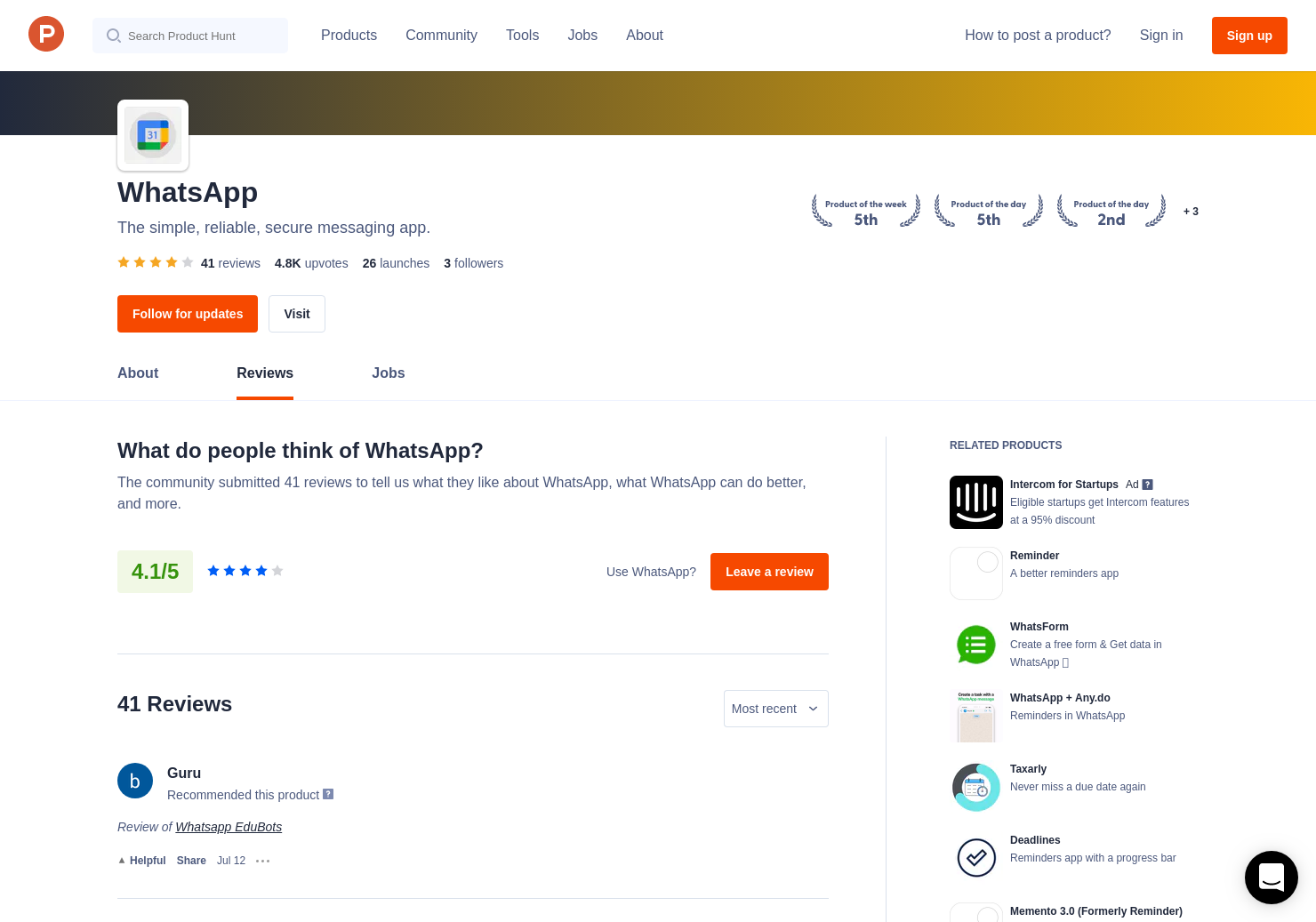 3 WhatsApp Desktop Reviews - Pros, Cons and Rating | Product