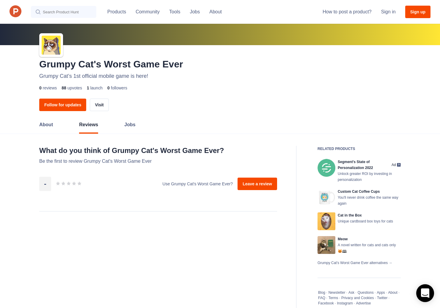 Grumpy Cat's Worst Game Ever Reviews - Pros, Cons and Rating