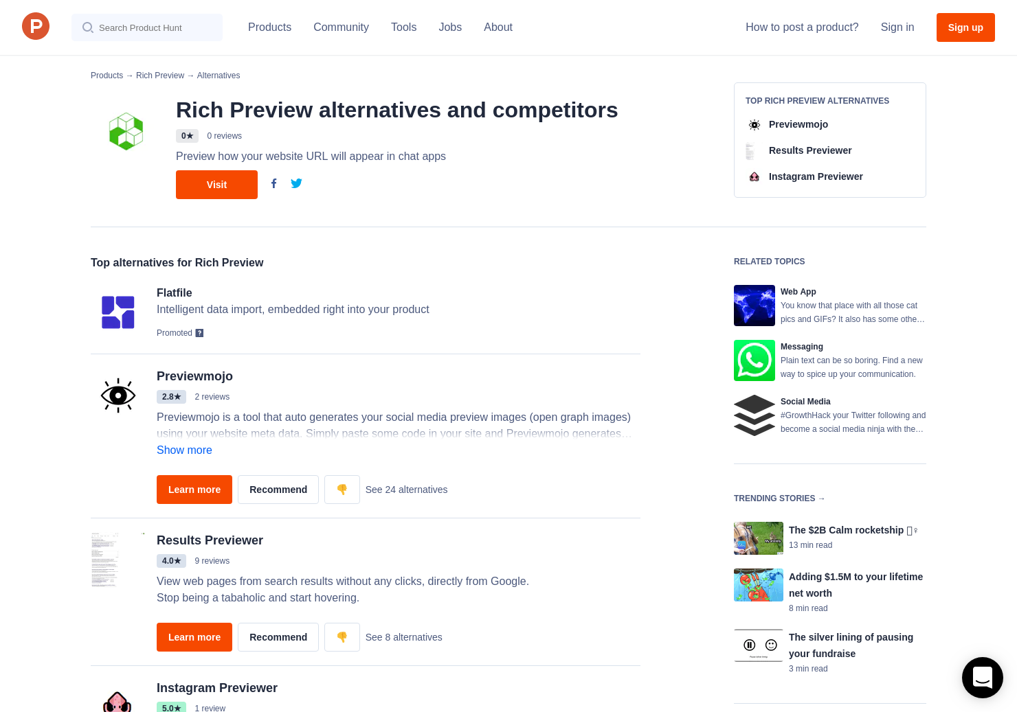 3 Alternatives to Rich Preview | Product Hunt