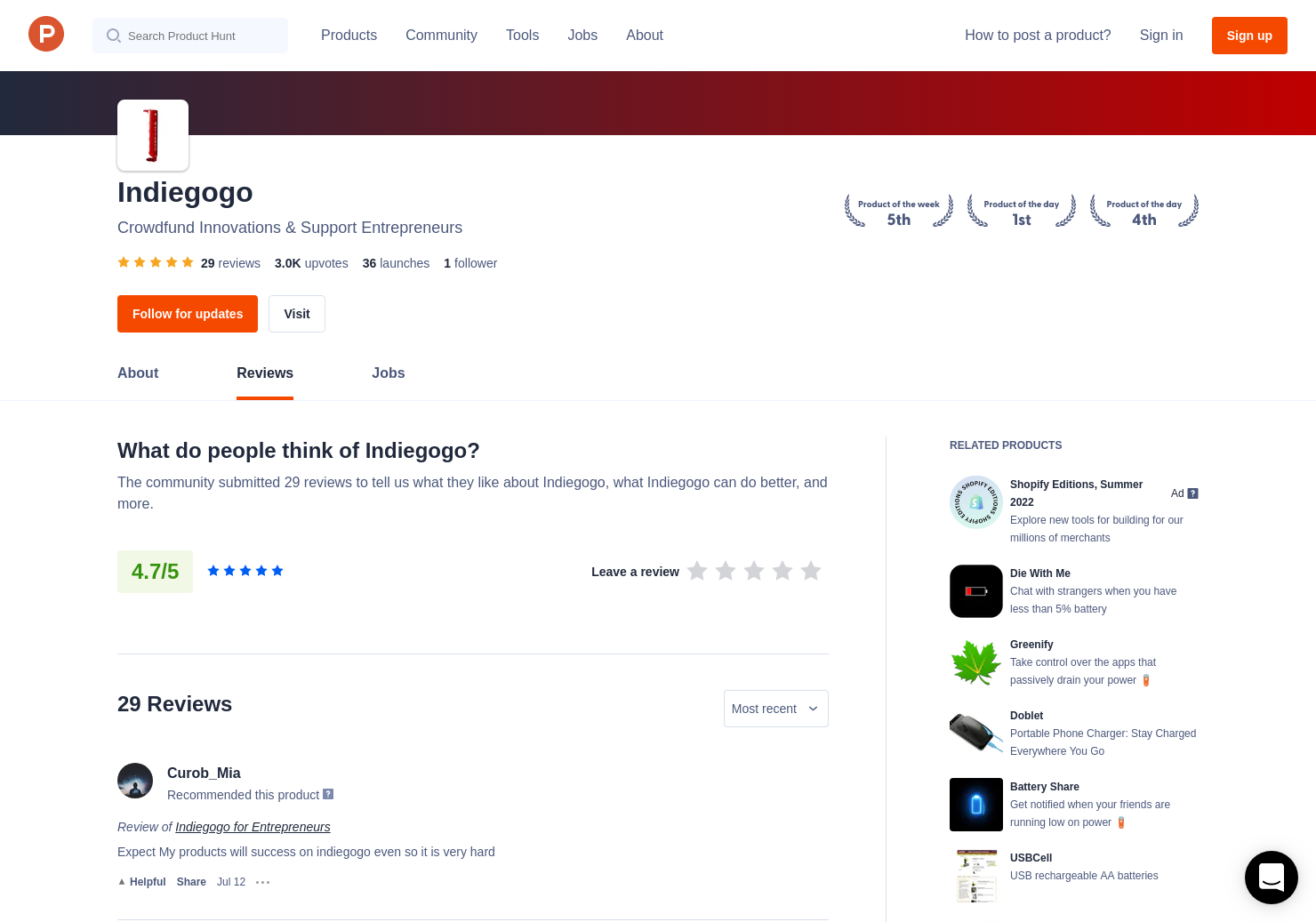 Fillip App Reviews - Pros, Cons and Rating | Product Hunt