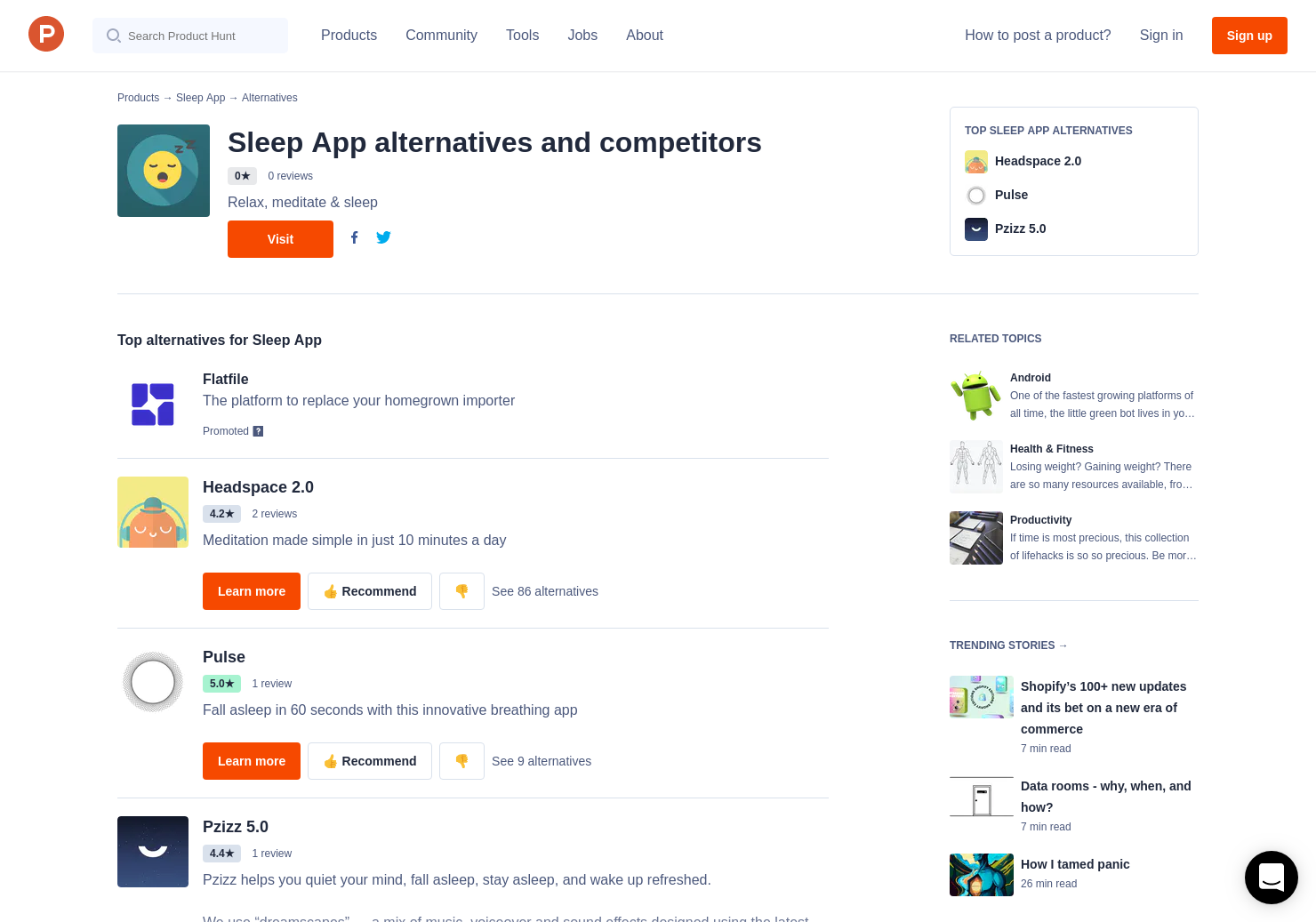 9 Alternatives to Sleep App for Android | Product Hunt