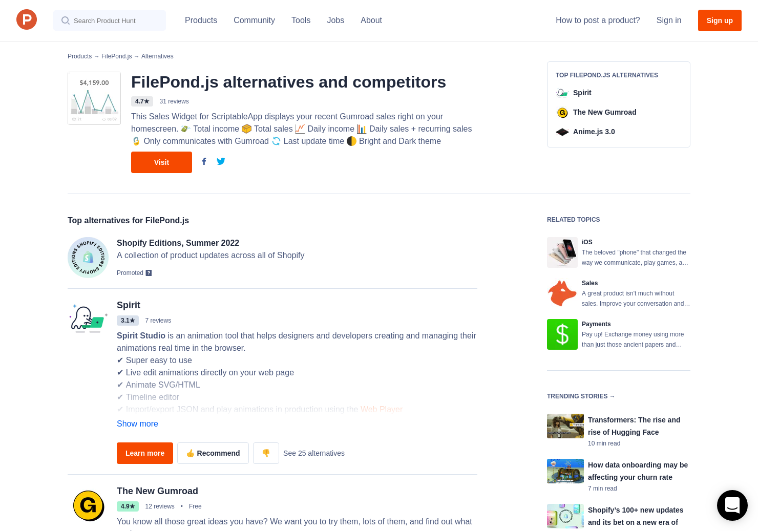 4 Alternatives to Doka js | Product Hunt
