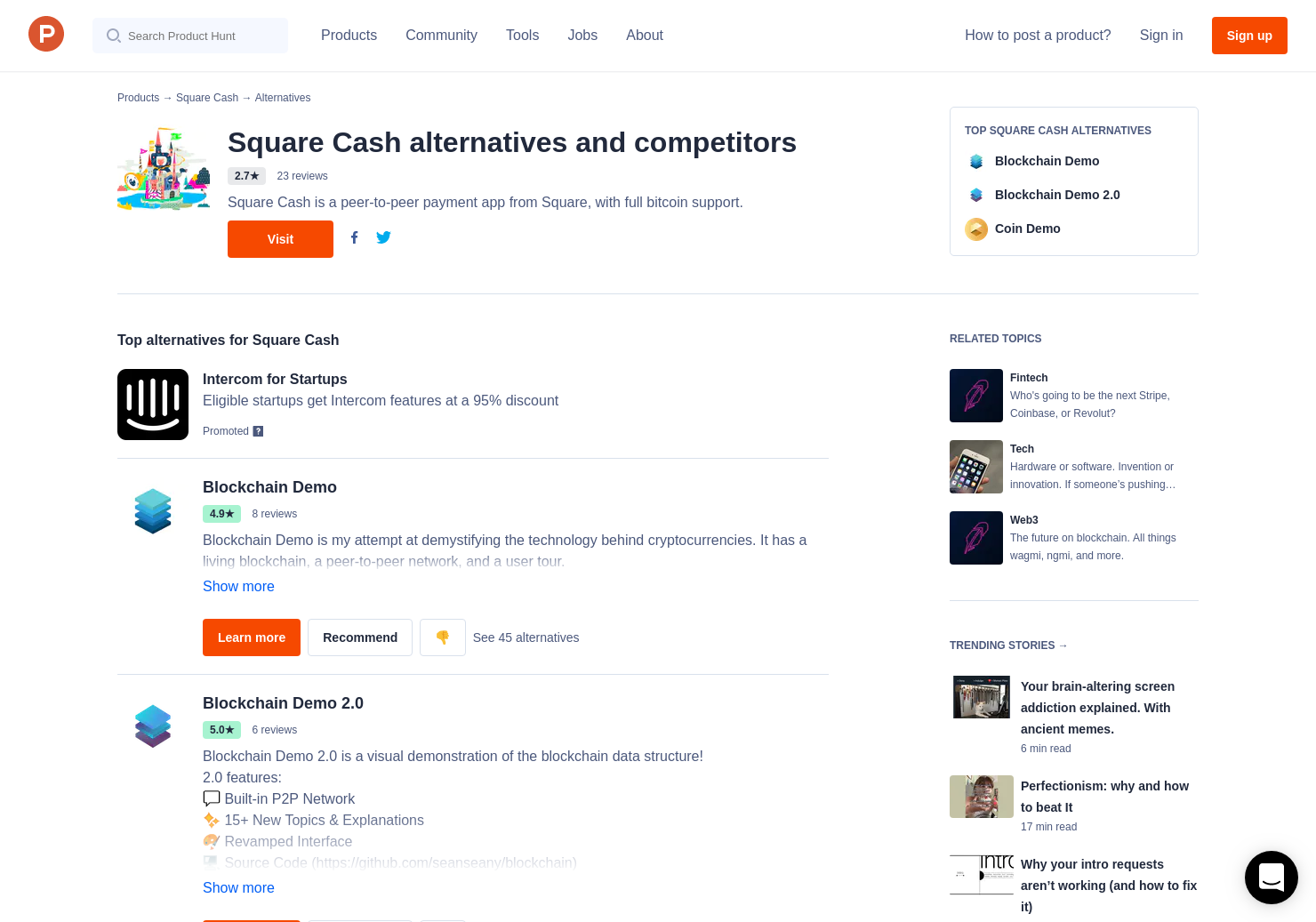 12 alternatives to my first bitcoin from square cash product hunt ccuart Gallery