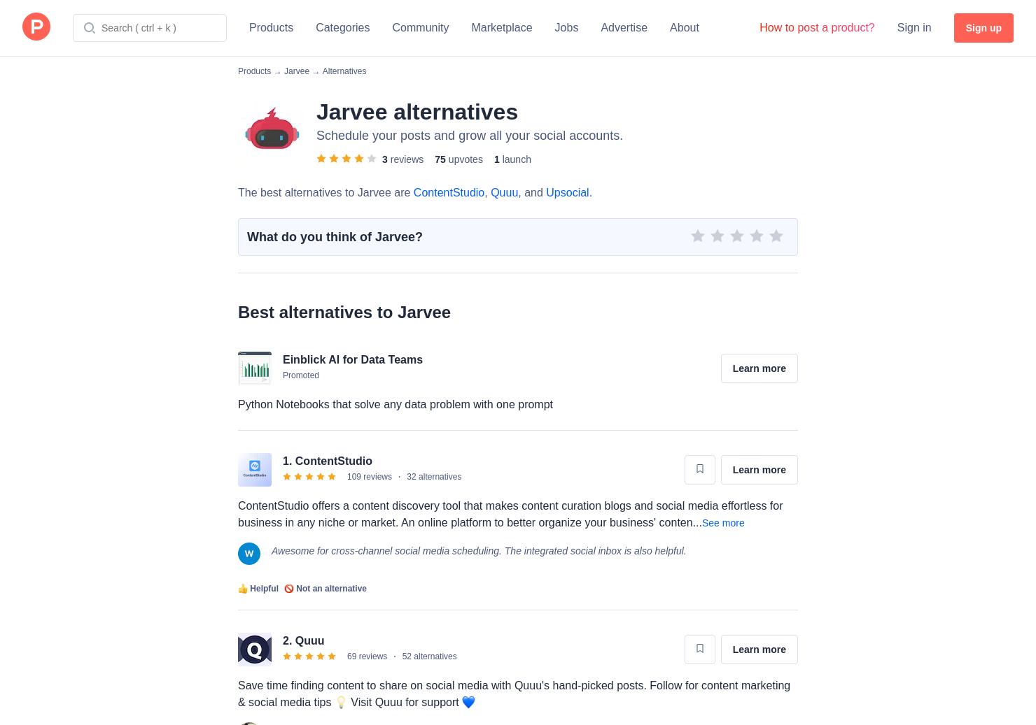 Jarvee Facebook Business Page