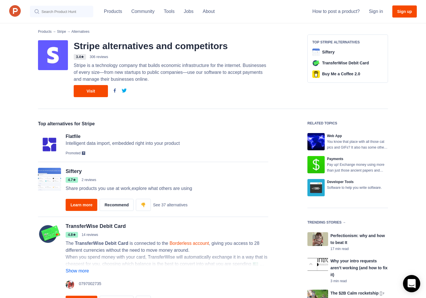17 Alternatives to ACH payments with Stripe for Android, iPhone