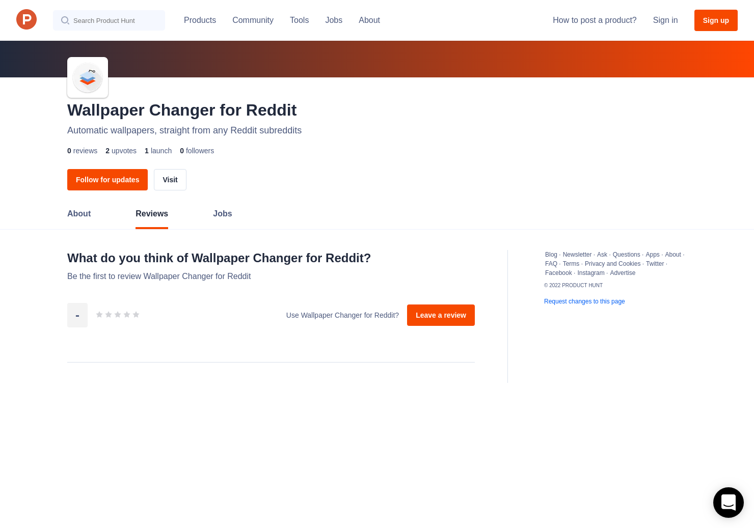 Wallpaper Changer for Reddit Reviews - Pros, Cons and Rating