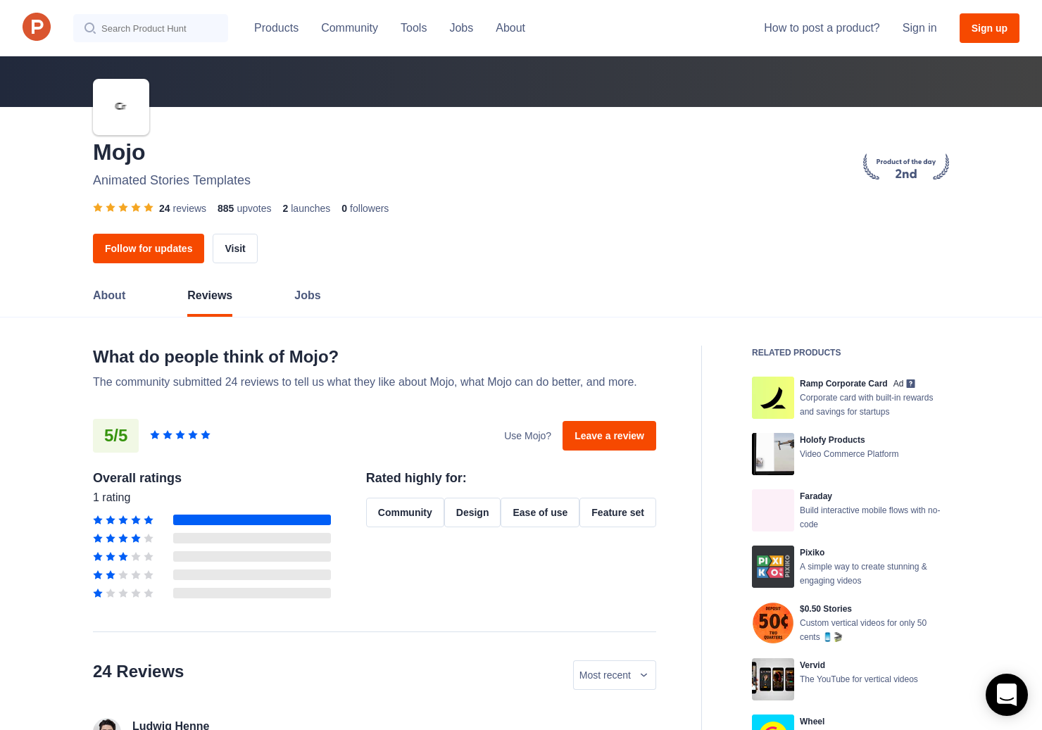 21 mojo iOS Reviews - Pros, Cons and Rating | Product Hunt