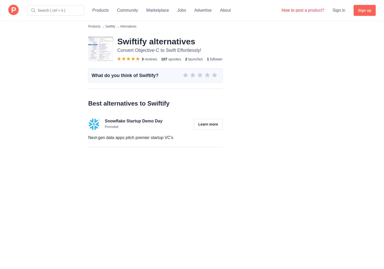 4 Alternatives to Swiftify Offline Converter for iPhone, Mac