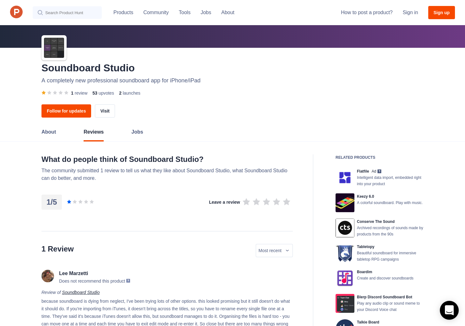 1 Soundboard Studio Reviews - Pros, Cons and Rating