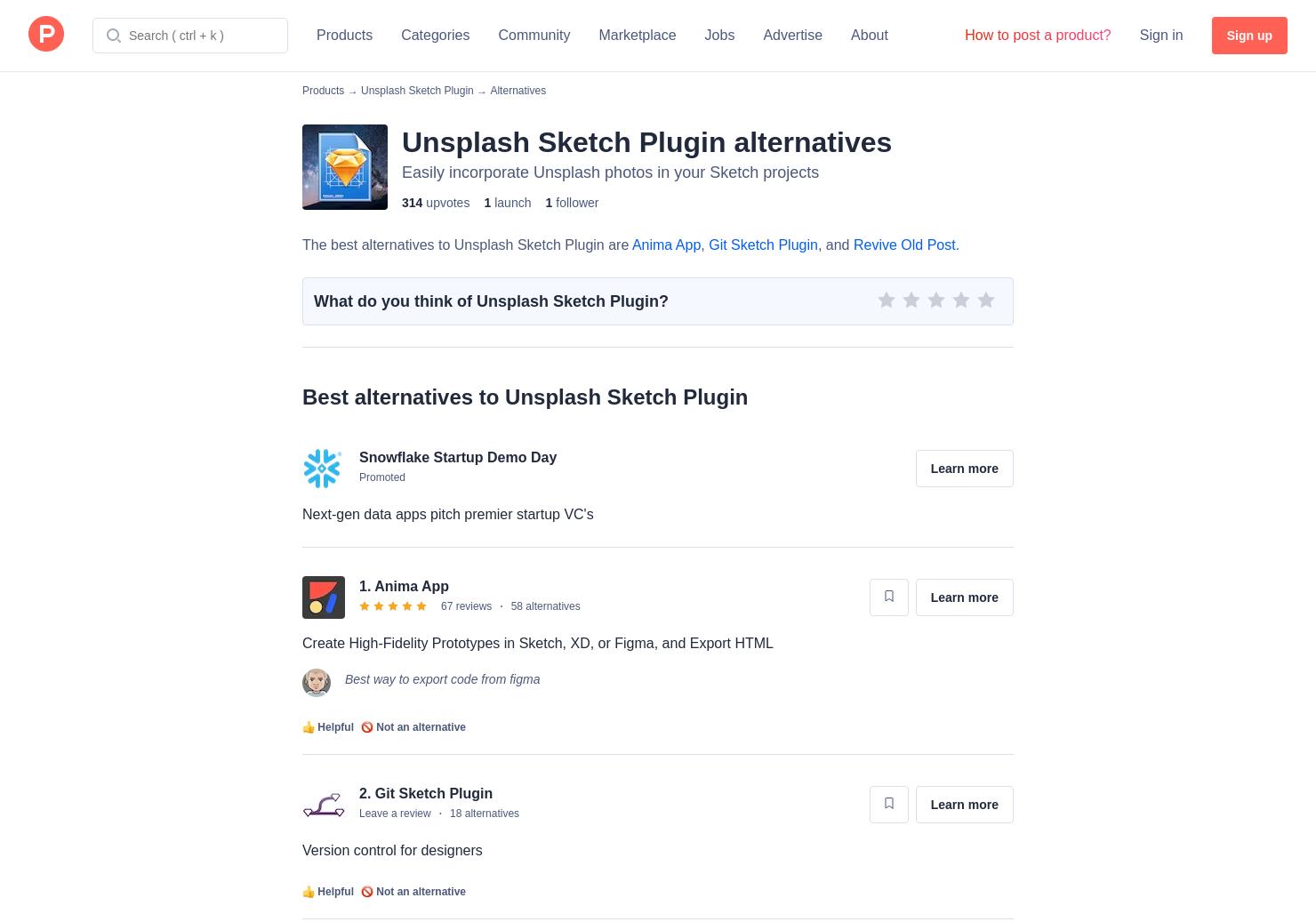 4 Alternatives to Unsplash Sketch Plugin for Mac | Product Hunt