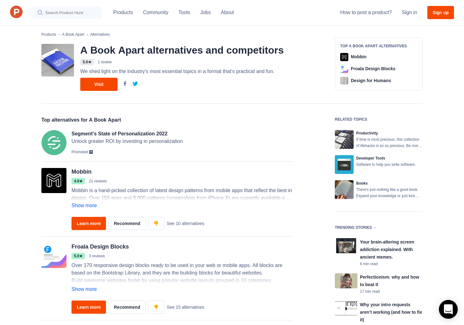 5 Alternatives to Get Ready For CSS Grid Layout | Product Hunt