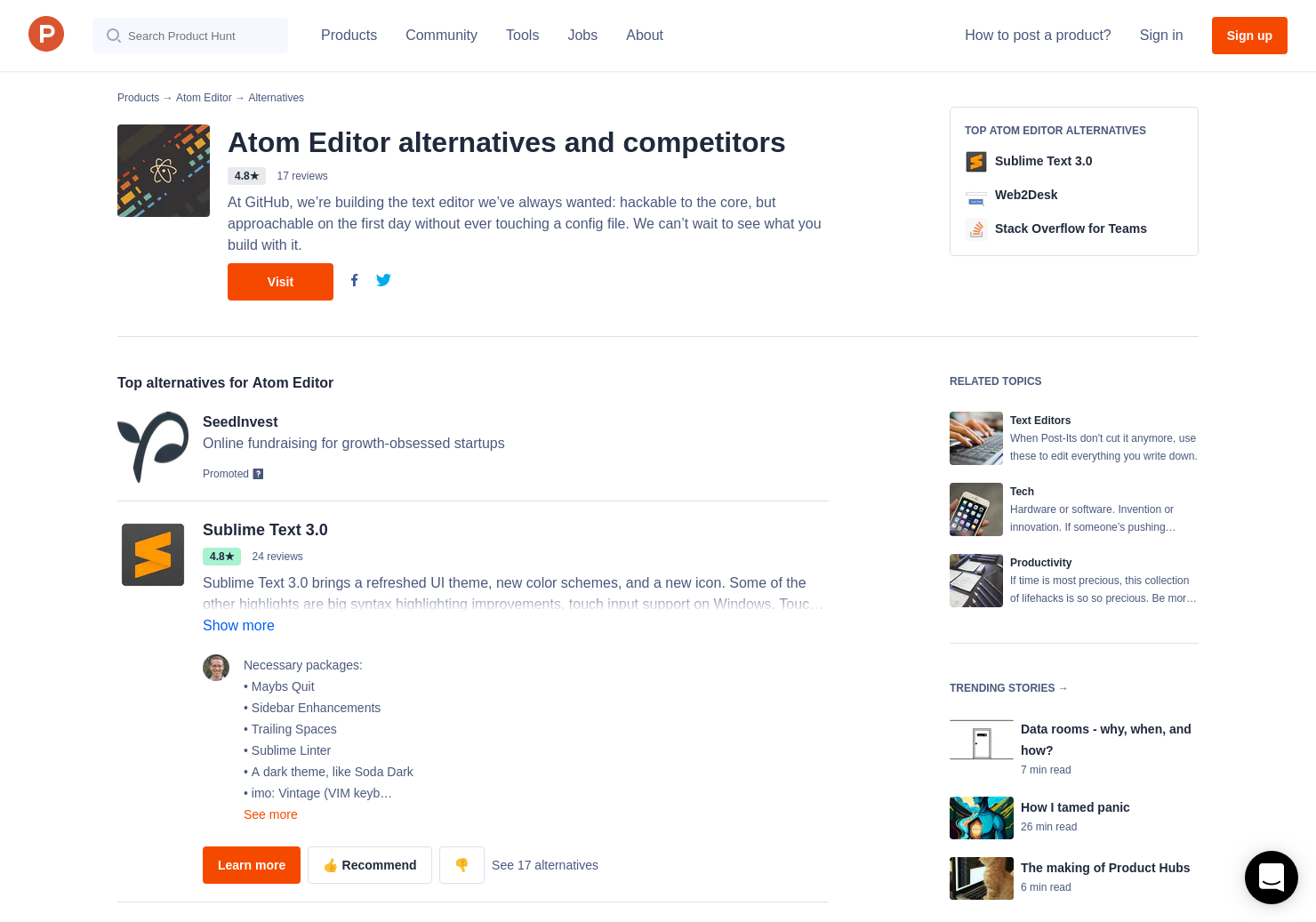 11 Alternatives to Electron 1 0 | Product Hunt