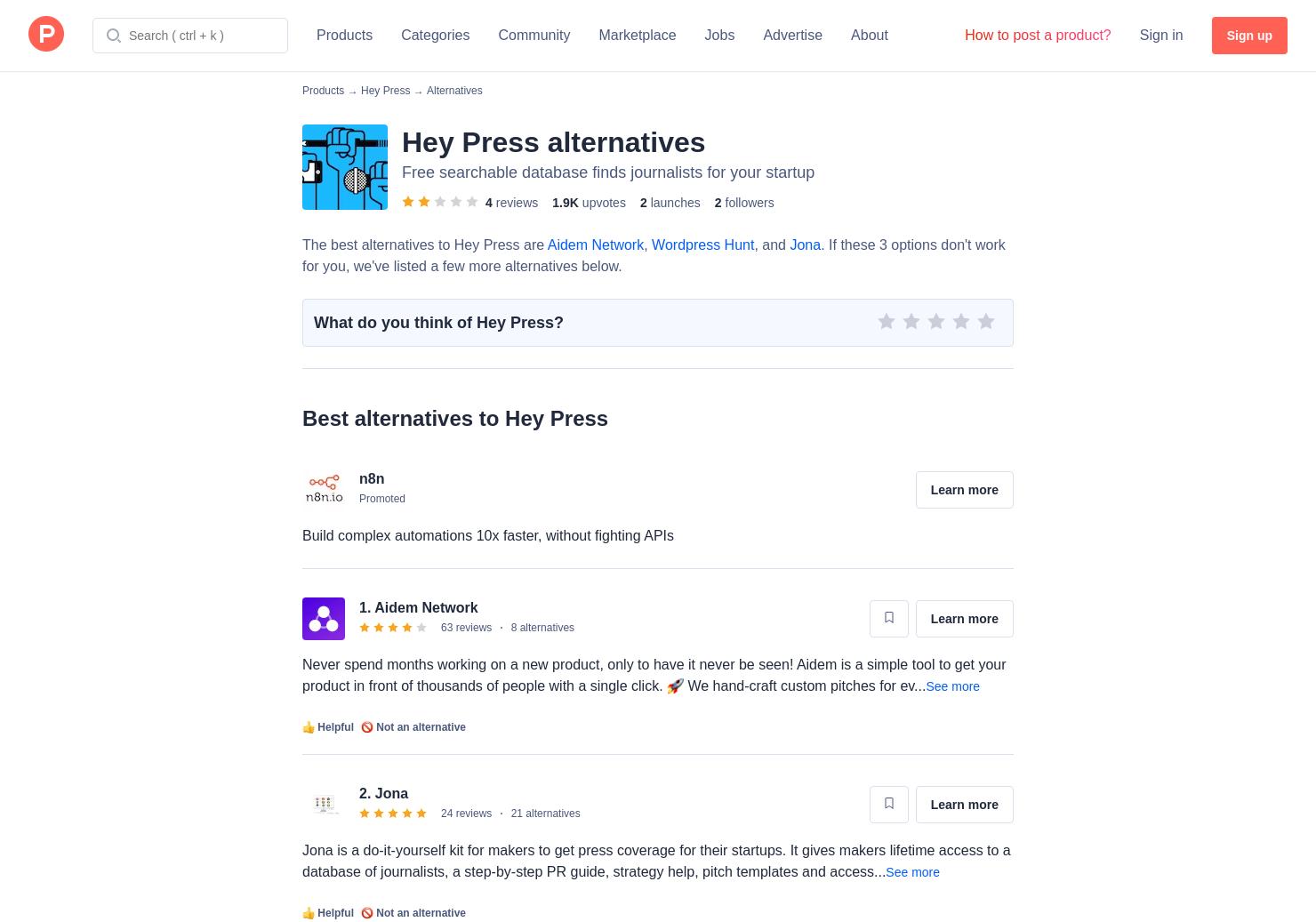 14 Alternatives to Hey Press | Product Hunt