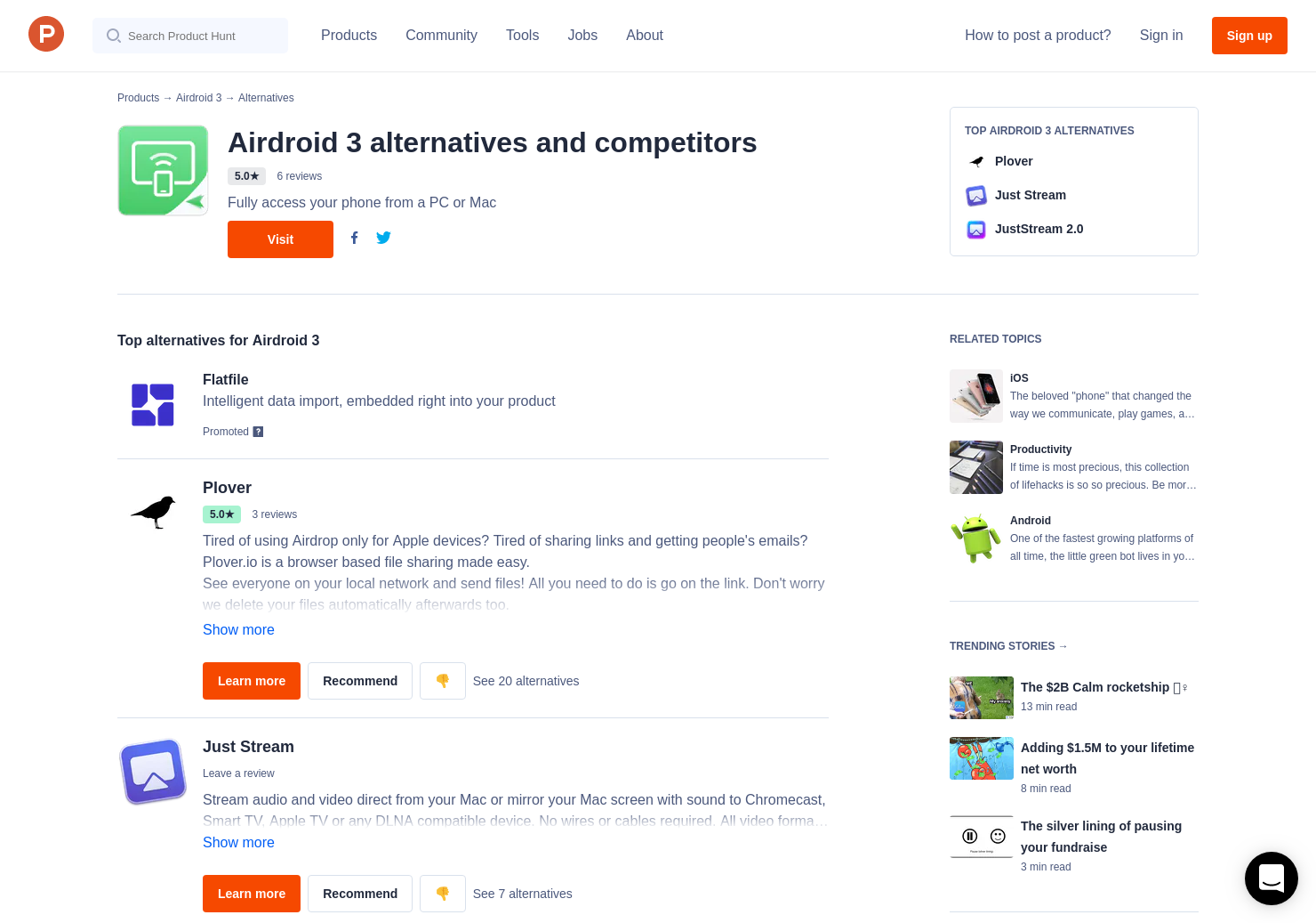 2 Alternatives To Airdroid 3 For Android Product Hunt