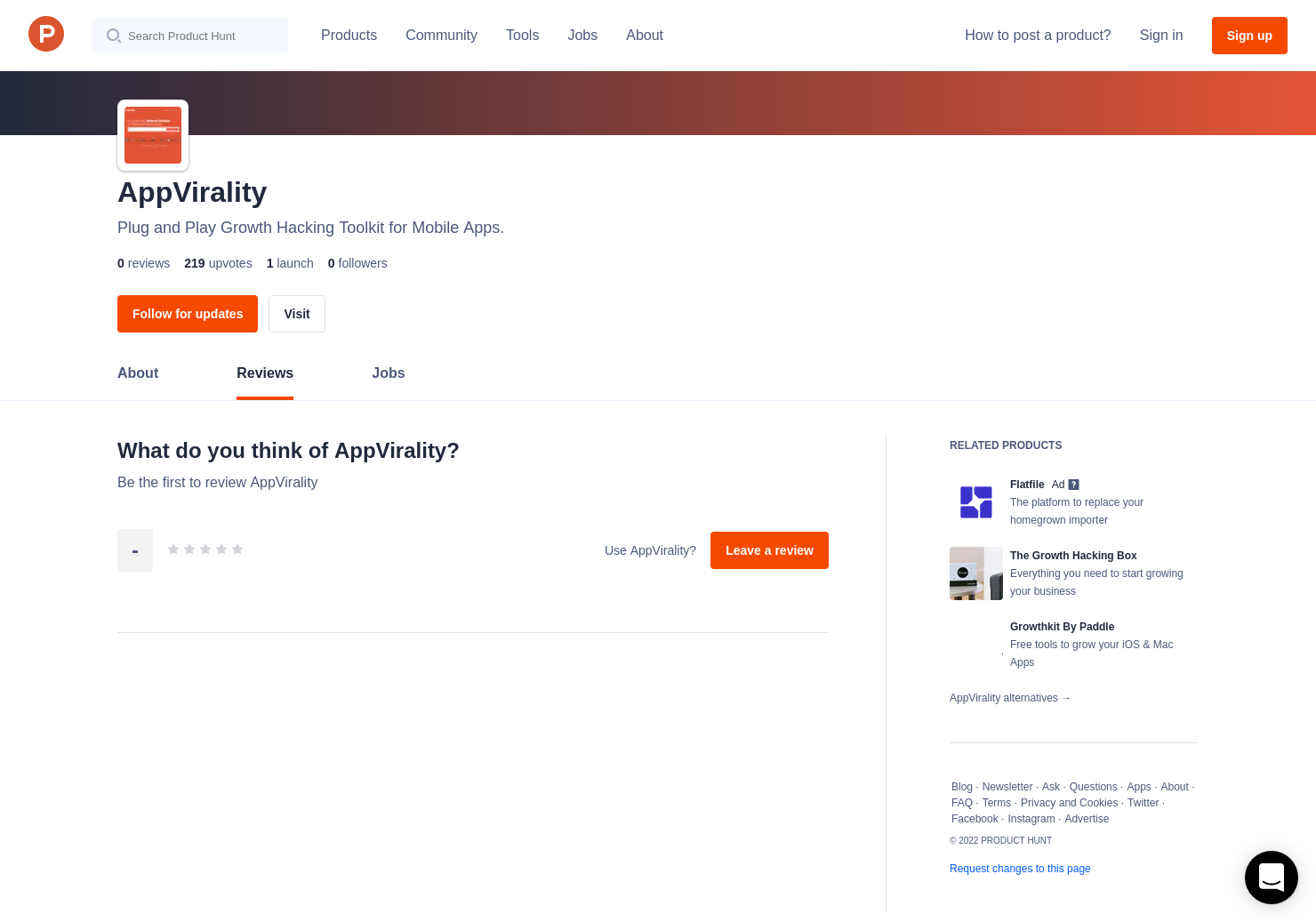 AppVirality Reviews - Pros, Cons and Rating | Product Hunt