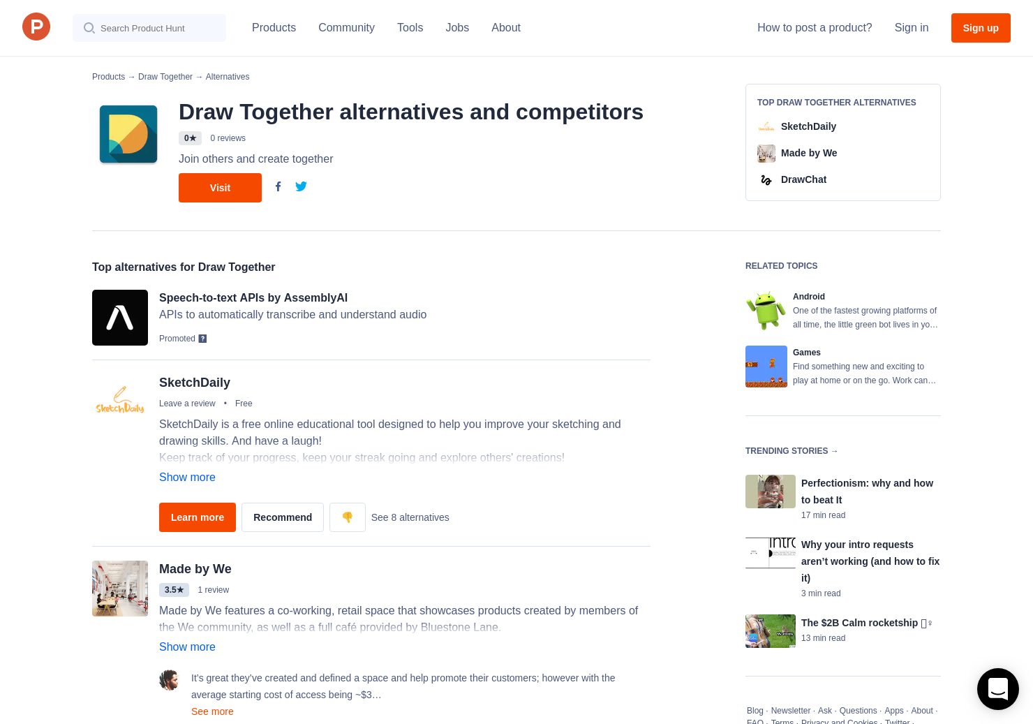1 Alternatives To Draw Together For Android Product Hunt