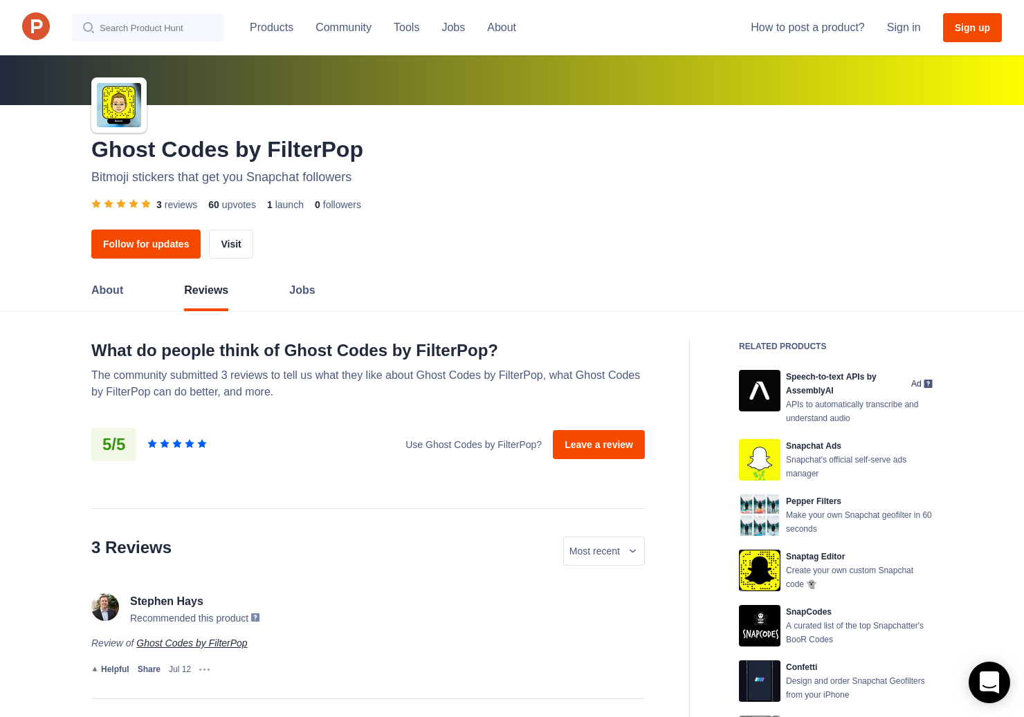 3 Ghost Codes by FilterPop Reviews - Pros, Cons and Rating