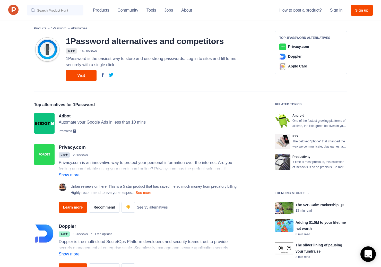 12 Alternatives to 1Password 7 for Mac and Windows for Mac