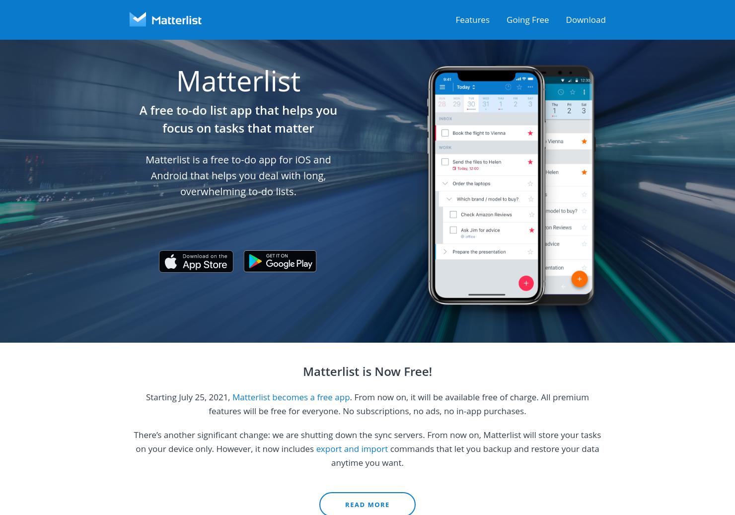 Matterlist