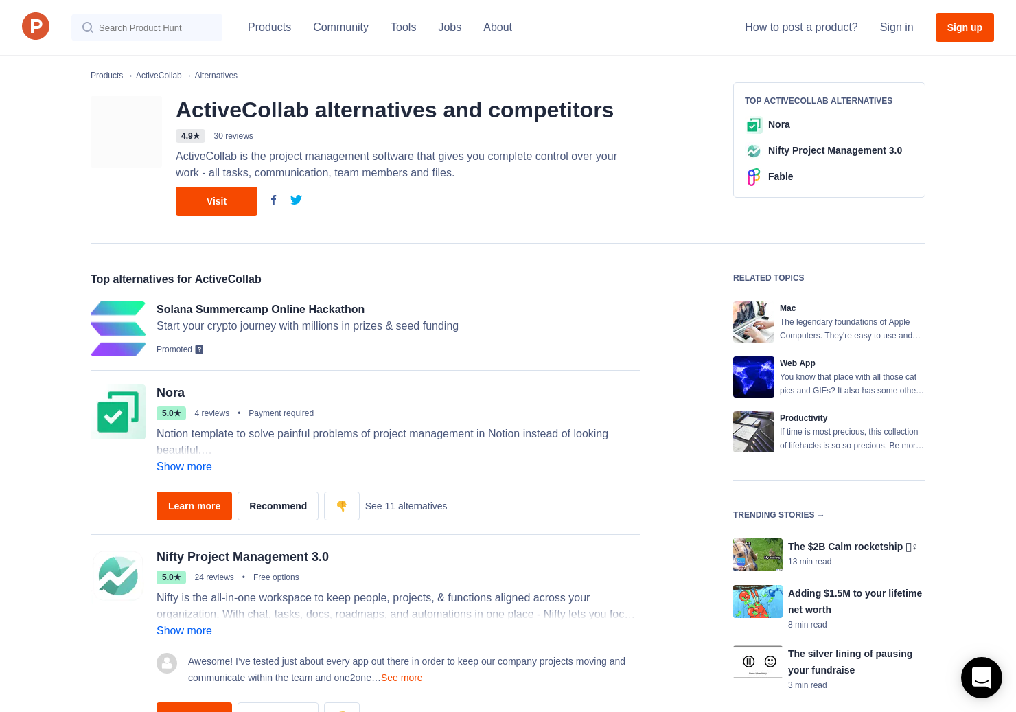 Activecollab 6 alternatives to activecollab for mac | product hunt