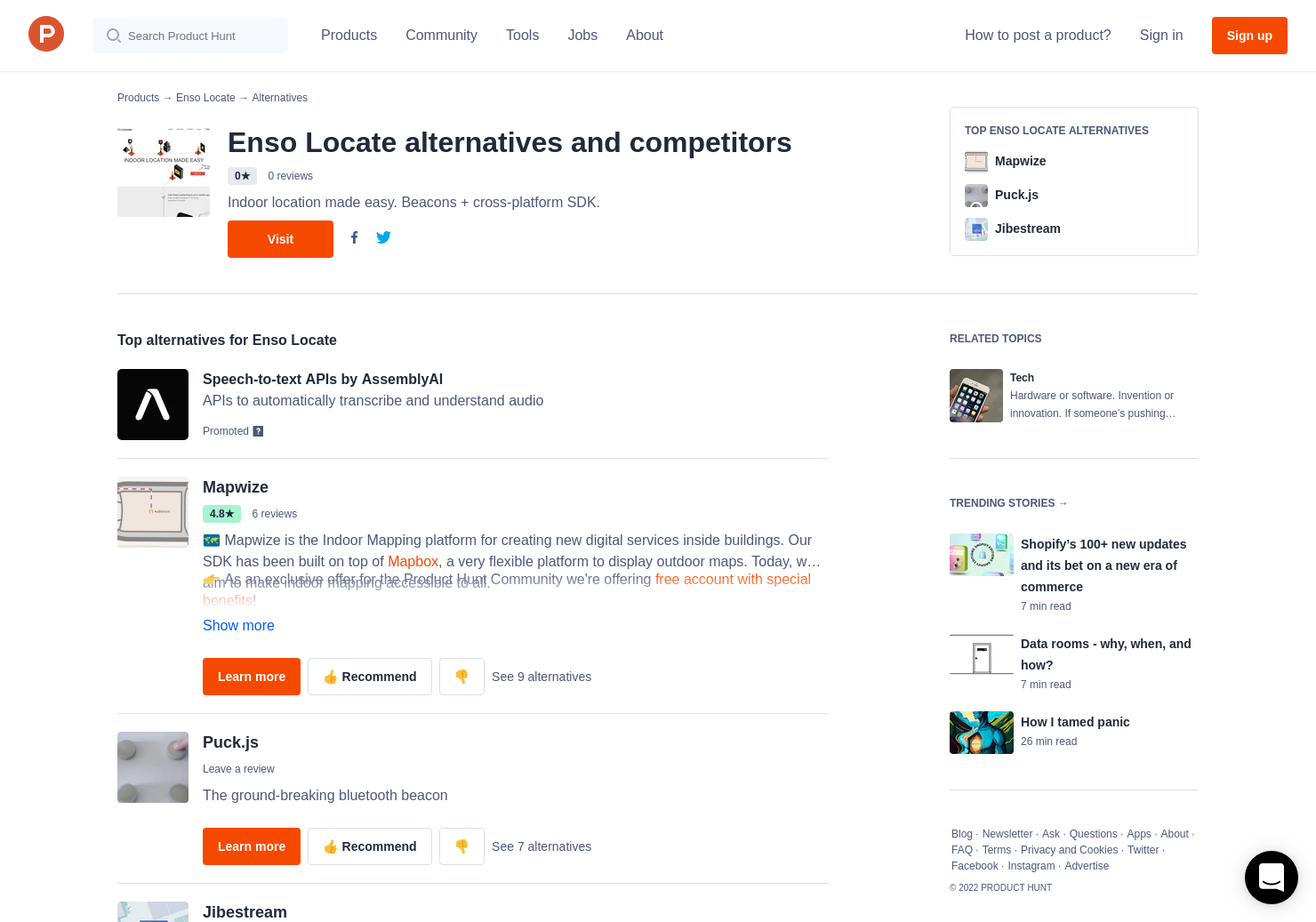 5 Alternatives to Enso Locate   Product Hunt