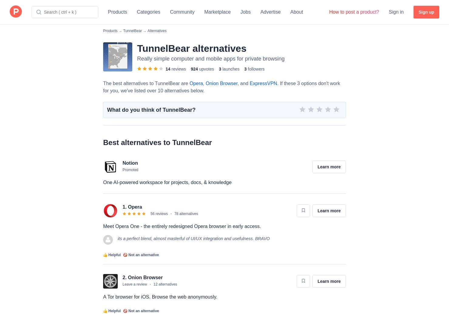11 Alternatives to TunnelBear for Mac & Windows for Windows