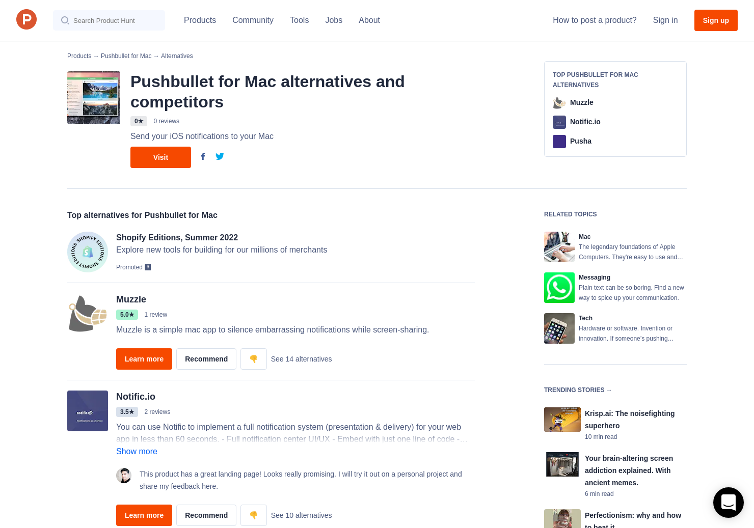 9 Alternatives to Pushbullet for Mac for Mac   Product Hunt