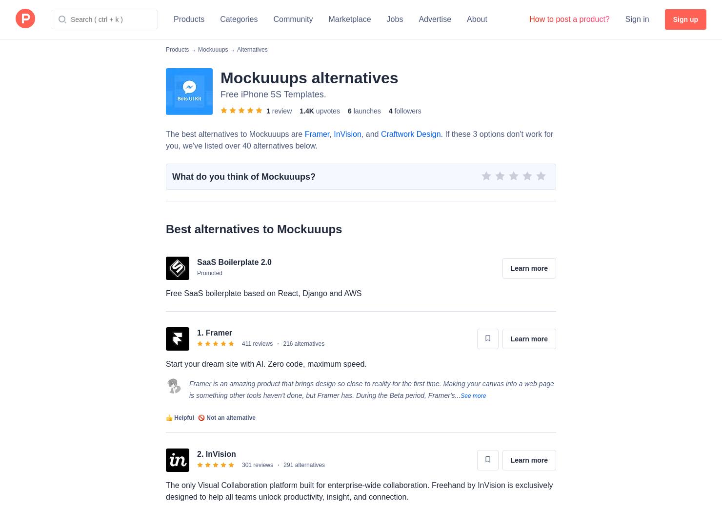 30 Alternatives to Bots UI Kit | Product Hunt