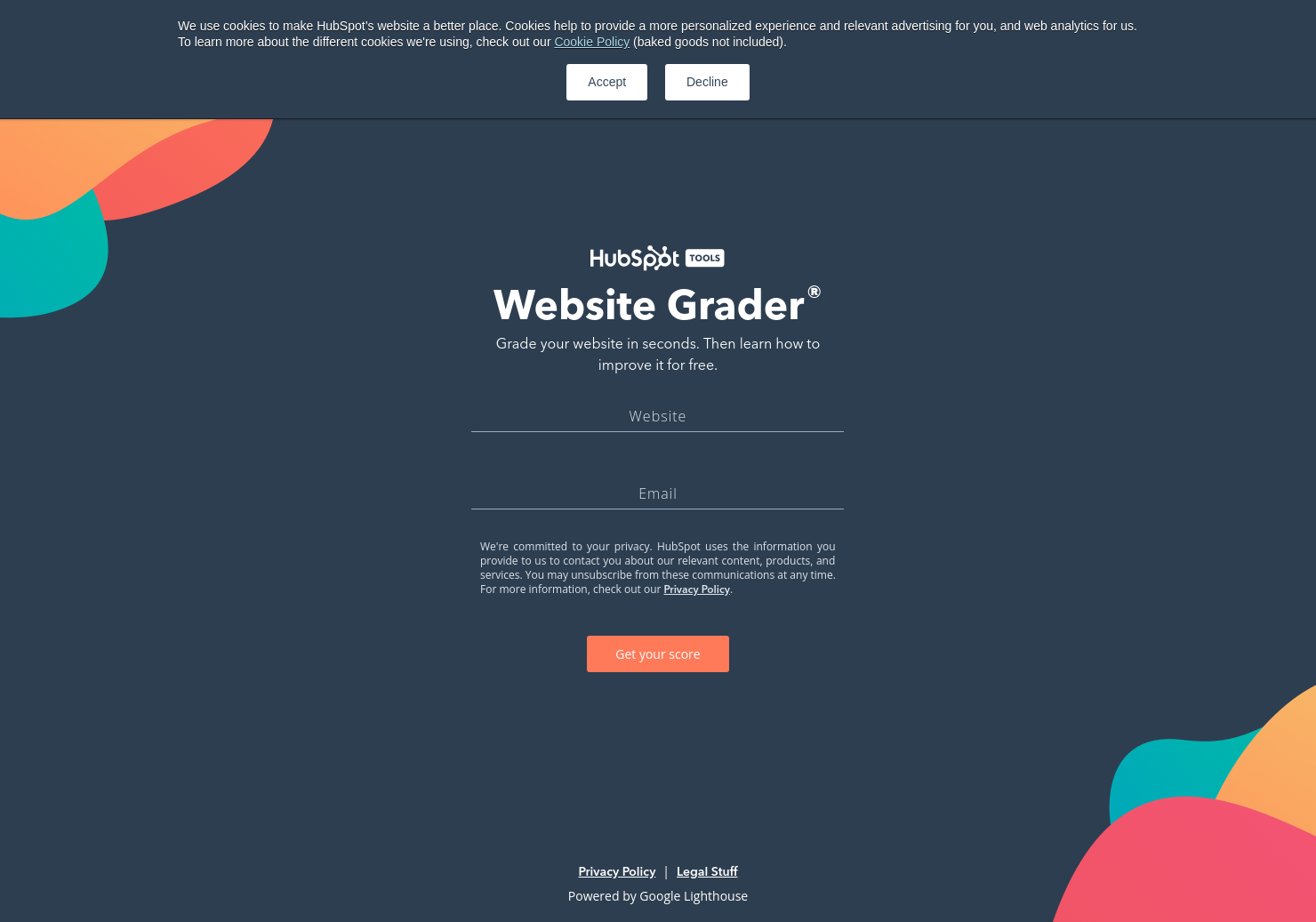The New Website Grader
