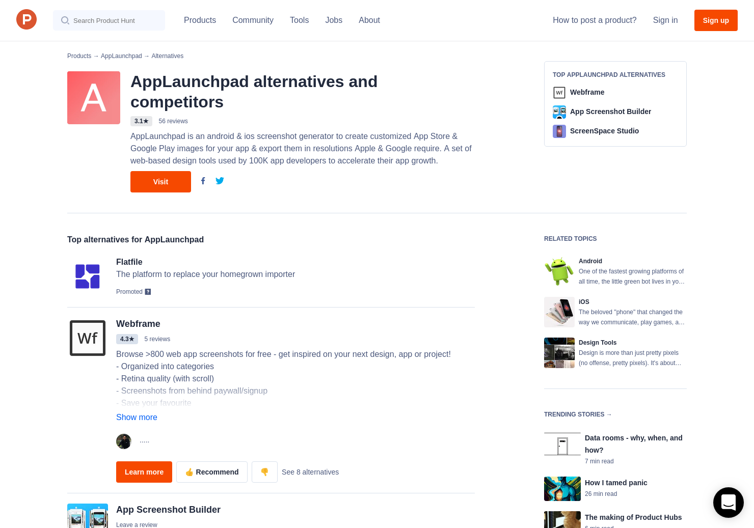 6 alternatives to mockup generator for iphone product hunt