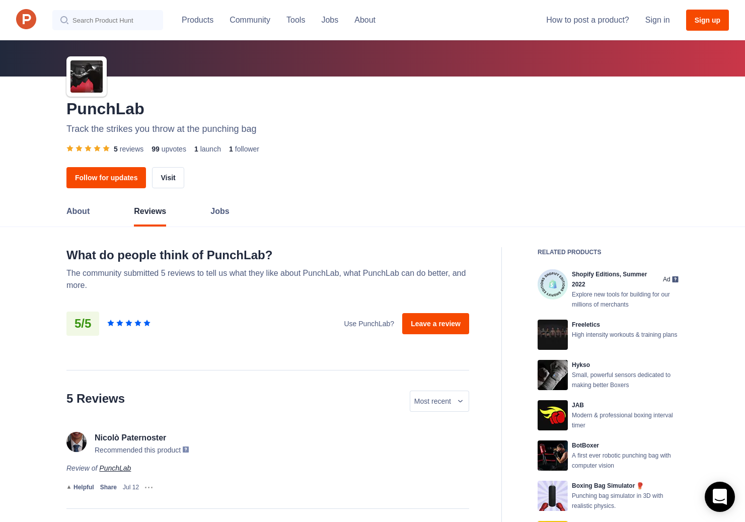 5 PunchLab Reviews - Pros, Cons and Rating | Product Hunt