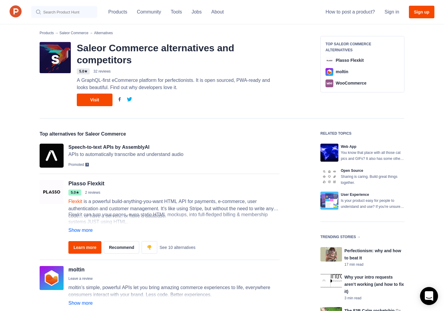 6 Alternatives to Saleor 2 0 | Product Hunt