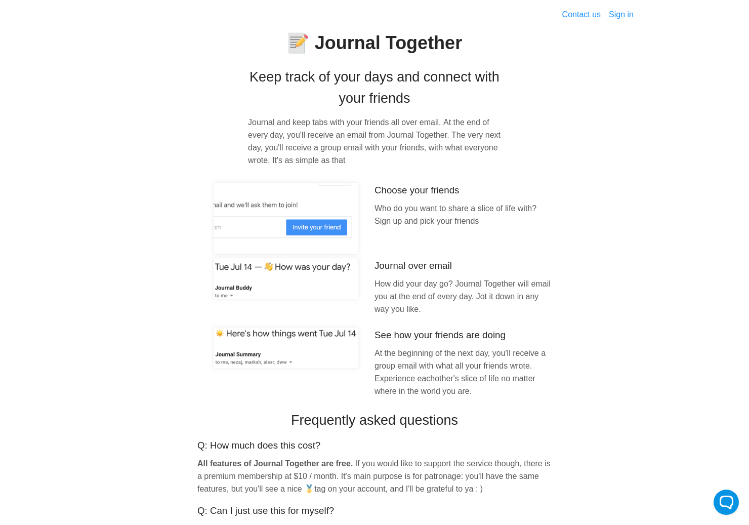 Journal Together