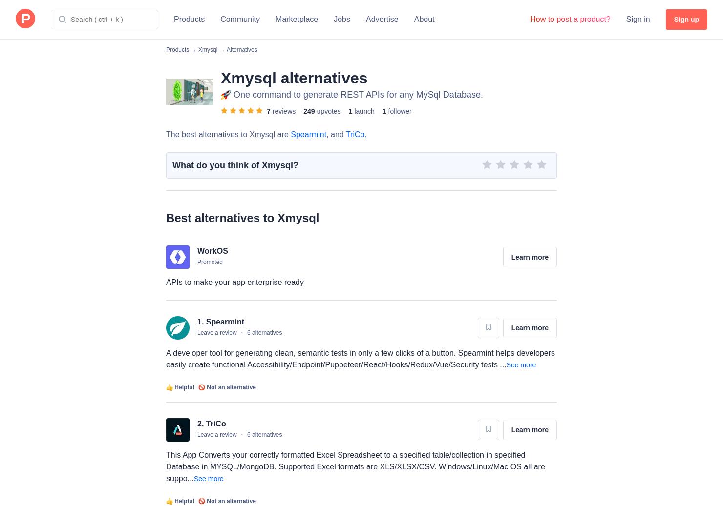 9 Alternatives to Xmysql   Product Hunt