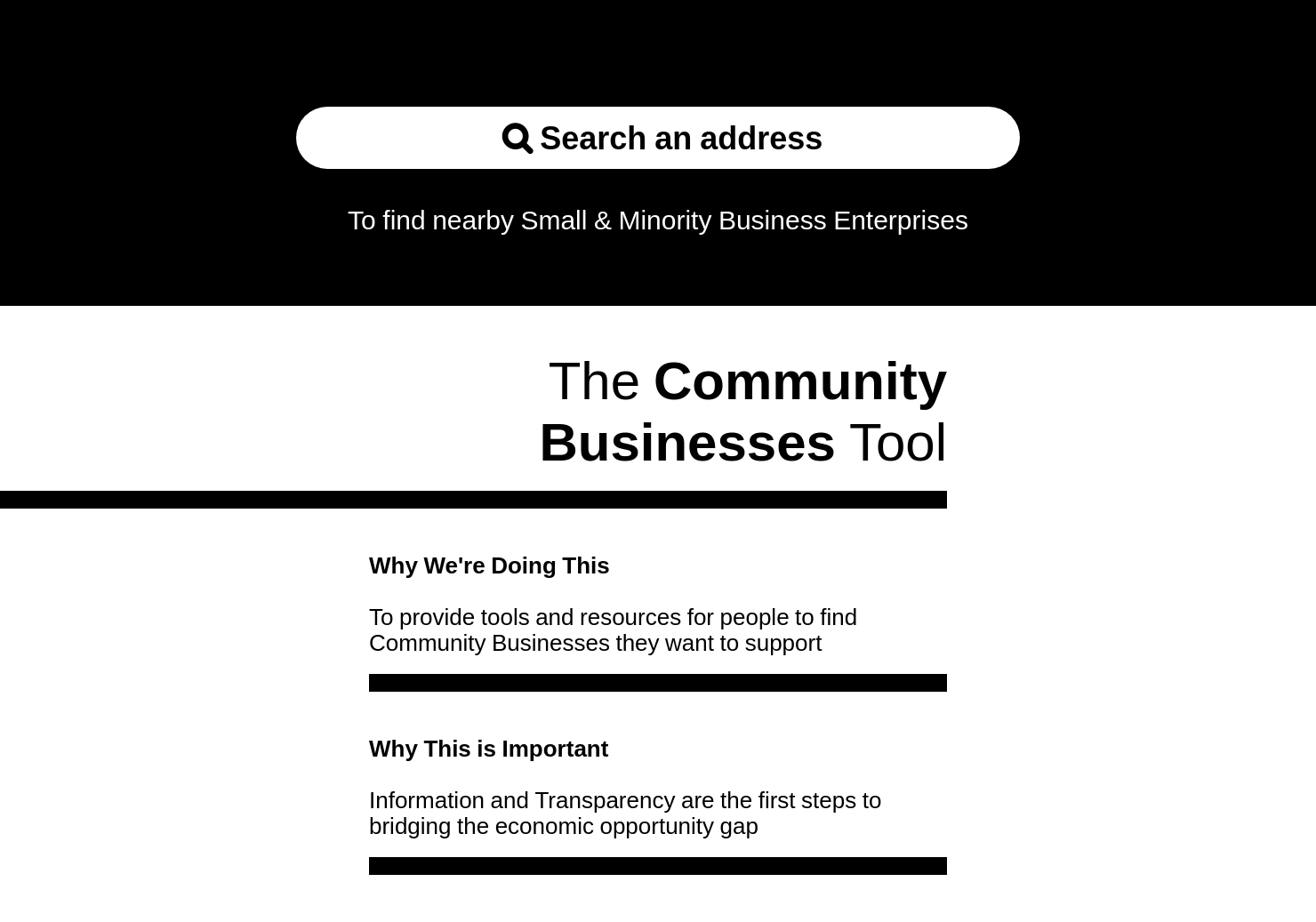 Community Business Tool by Middesk