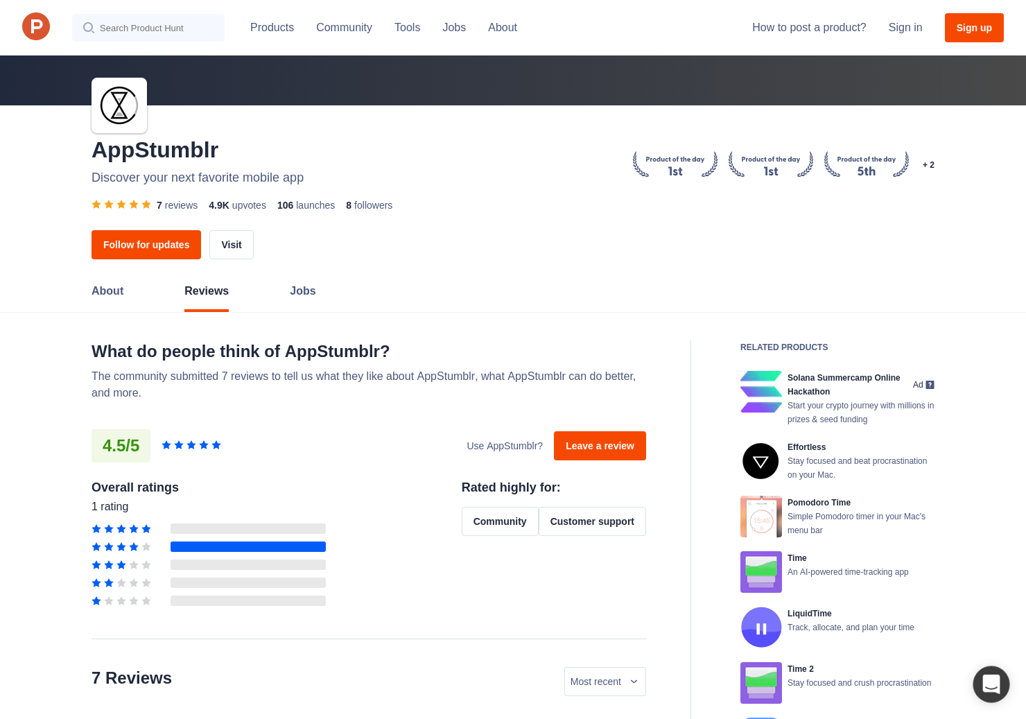 1 Clocker Timer Reviews - Pros, Cons and Rating | Product Hunt